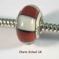 European Style Beads With Sterling Silver Core (8003)
